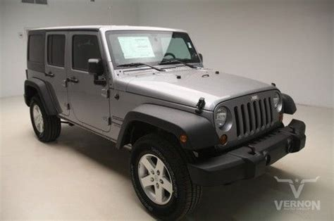 Jeep New Car Warranty Find New 2013 Sport 4x4 3 Top Black Cloth V6