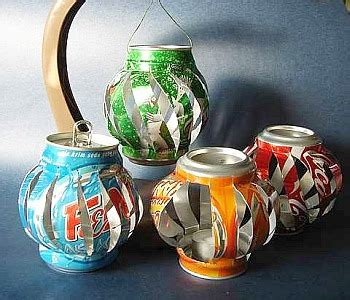 soda can craft projects make soda can lanterns 187 dollar store crafts
