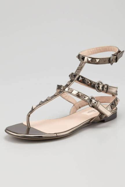 expensive sandals valentino rockstud flat gladiator sandals expensive gifts