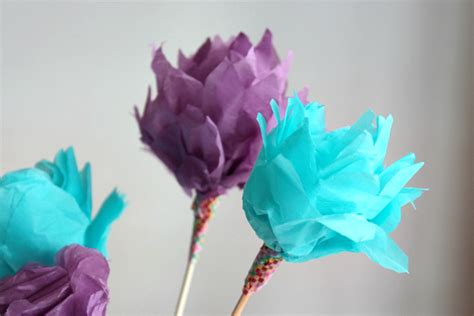 How To Make Flower Bouquet With Tissue Paper - make a bouquet of beautiful paper flowers for s day