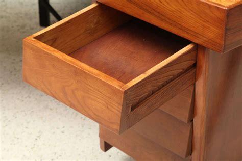 a modern iron and oak cork top desk 1950s by