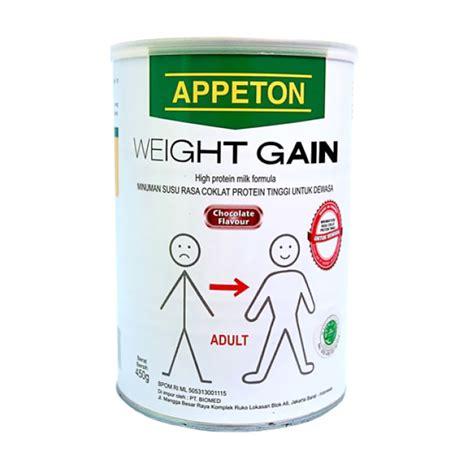 jual appeton weight gain minuman coklat 450 g