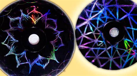 como se realizan las mandalas con cd tutorial mandalas con cd 180 s diy youtube