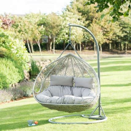 siena hanging snuggle egg chair garden furniture bm