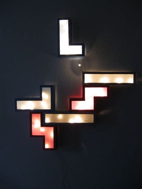 Non Hardwired Wall Sconce Lighting Cool Wall L Tetris Design For Outstanding Lighting Simple Hardware Visual