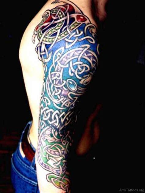celtic tattoo sleeve 60 celtic tattoos on arm
