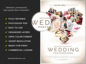 photography flyer template wedding photographer flyer template flyerheroes