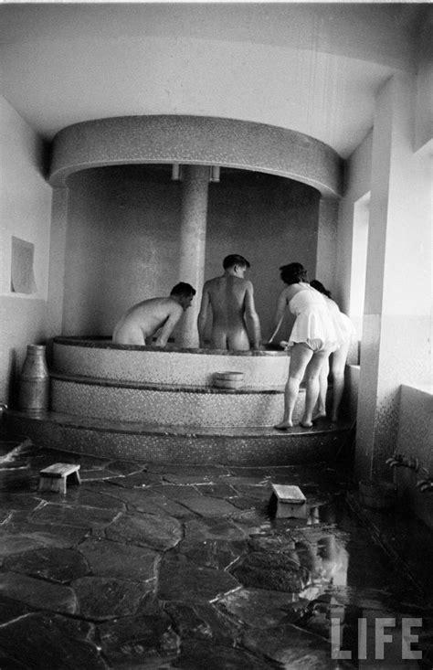 bath house an intimate look inside a 1950s tokyo bath house