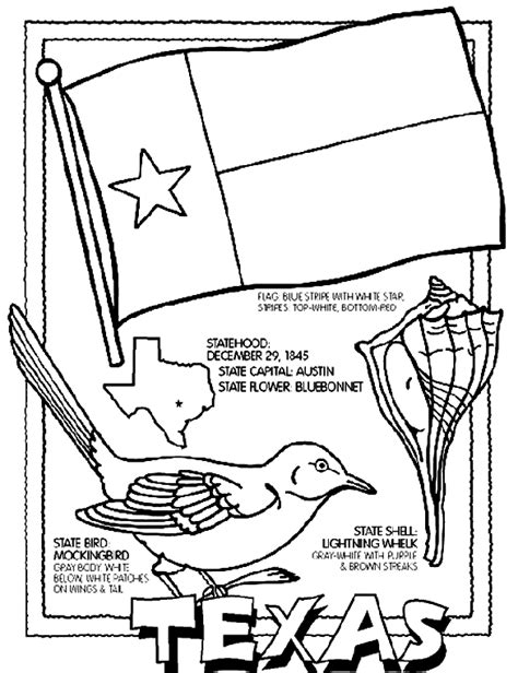flag coloring pages with key texas flag coloring page coloring home