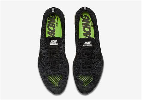 Nike Flyknit Racer Black Out For 1 nike flyknit racer blackout release date sneaker bar detroit