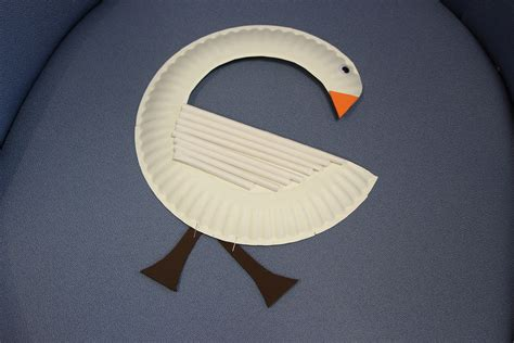 Swan Paper Craft - swan paper plate care for the family
