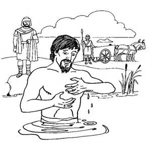 naaman the leper coloring activity coloring pages
