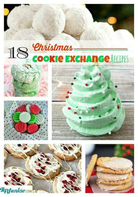 18 best christmas cookie exchange recipes tip junkie