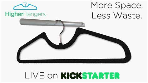 Space Saving Hanger live on kickstarter higher hangers space saving closet
