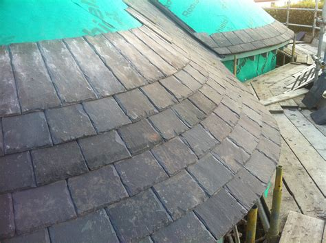 slate roof section conical roof slating designing buildings wiki