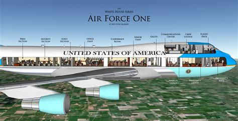 layout of air force one a good life executive visit