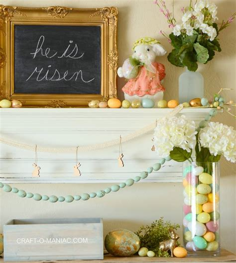 beautiful easter inspired home decor ideas