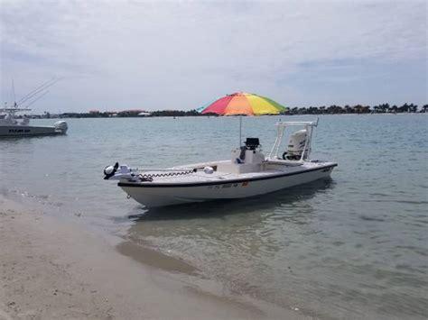 mako flats boat used mako flats boat for sale