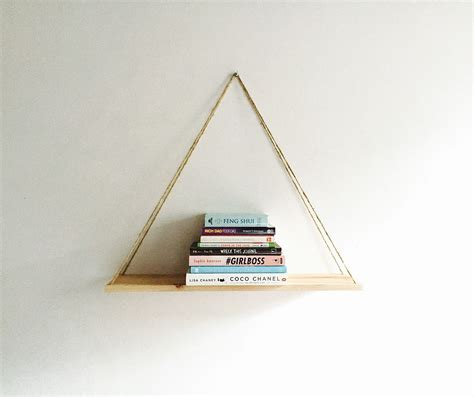 unique hanging shelf floating bookshelves diy minimalist