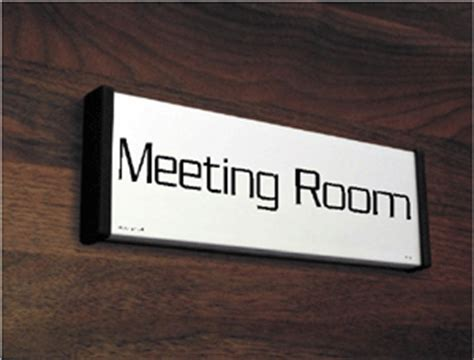 meeting room signs boardroom conference and occupied signs
