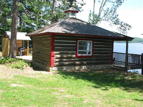 Algonkian Park Cabins by Roofed Accommodation At Ontario Parks