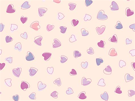 love heart pattern cute heart pattern wallpaper 1600x1200 27954
