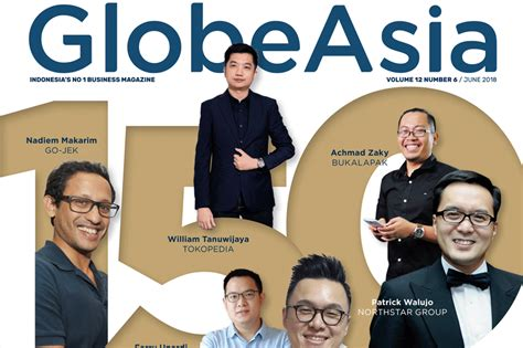 150 Rich List 2018 Globe Asia by 150 Richest Indonesians Globe Asia