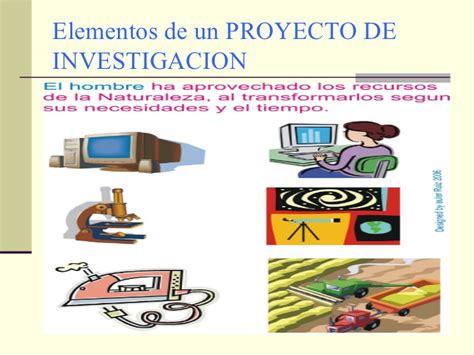 imagenes que digan proyecto elementos del proyecto de investigaci 243 n