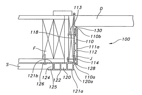 Overhead Door Jamb Detail Patent Us20080072506 Vinyl Door Jamb And Casing Unit Patents
