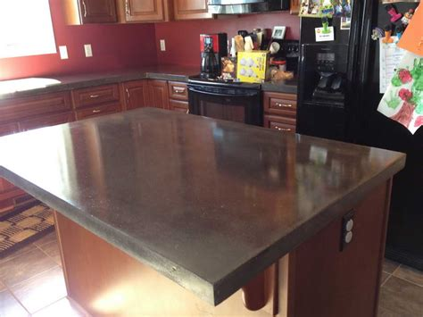 concrete countertops kitchen decorative poured concrete countertops kitchen
