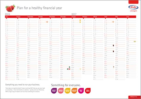 printable financial year calendar australia free 2016 2017 financial year calendar kwik kopykwik kopy