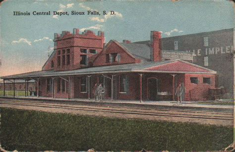 zp169 early sioux falls south dakota sd 1918 illinois