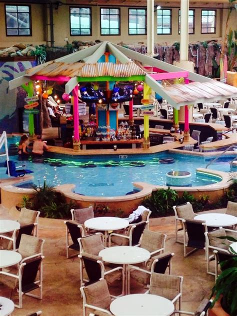The Wilderness Cabins Wisconsin Dells by New Swim Up Bar At The Wilderness Resort Wisconsin Dells