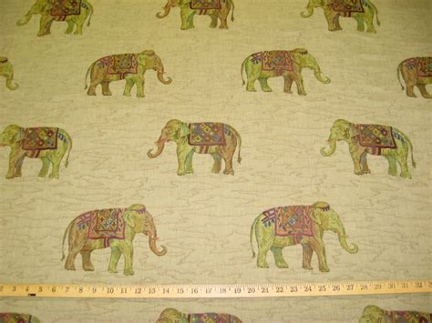aladdin upholstery aladdin elephant tapestry upholstery fabric ft935 ebay