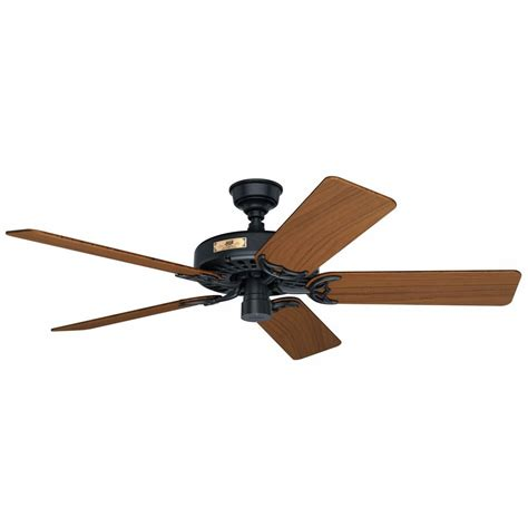 ceiling fan outdoor blades black outdoor ceiling fan with teak wood blades 23863