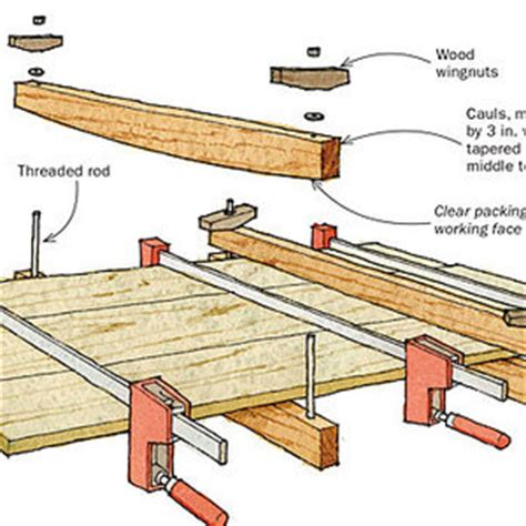 woodworking caul pipe cl cauls put pressure where you need it