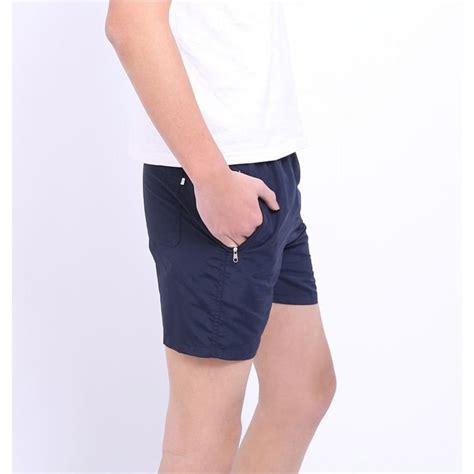 Celana Pantai Santai Pria Anti Uv Size Navy Blue celana pantai santai pria anti uv size l navy blue