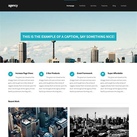 wordpress themes it business agency coporate business wordpress theme wpexplorer