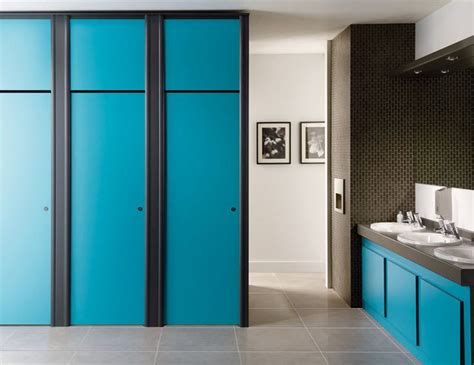 Modern Bathroom Partitions Prefab Partitions Only These Can T Go All The Way To Clg