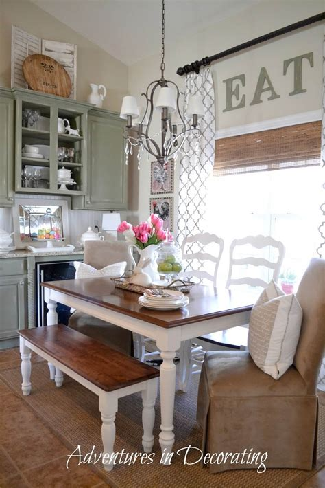 How To Decorate A Kitchen Table 37 Best Farmhouse Dining Room Design And Decor Ideas For 2017