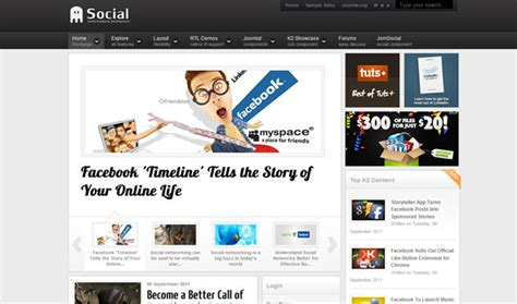 social networking templates shaper social social networking joomla 2 5 template