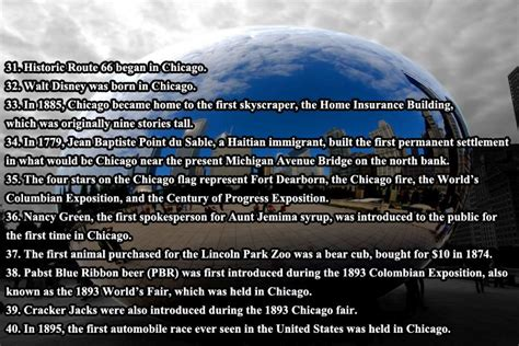 interesting facts  chicago