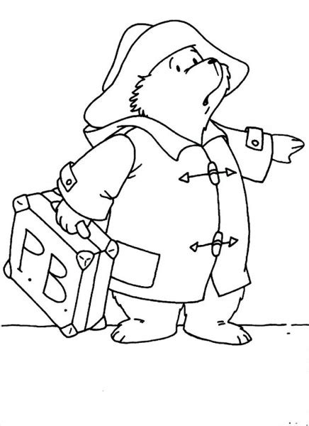 Paddington Baymax paddington coloring page ecoloringpage