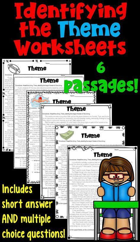 top themes literature 8451 best images about 4th grade common core on pinterest