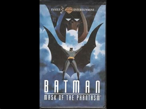batman mask of the phantasm 1993 teaser vhs capture opening to free willy 1993 vhs funnydog tv