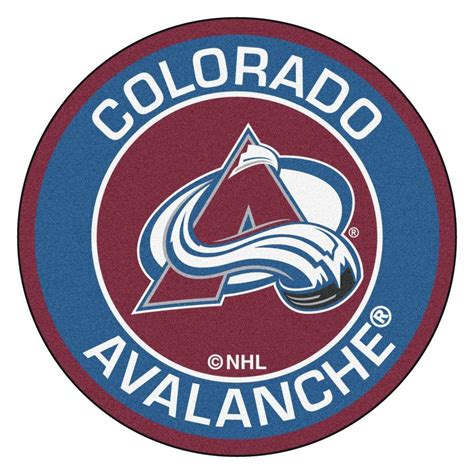 FANMATS NHL Colorado Avalanche Blue 2 ft. 3 in. x 2 ft. 3