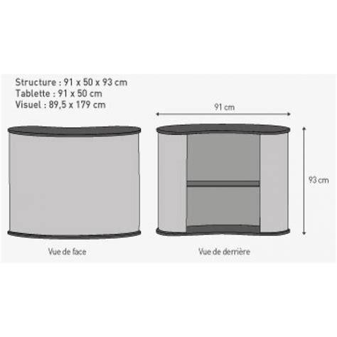 comptoir accueil pas cher comptoir d accueil tissu polyester pour stand salon