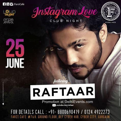 raftaar film song music raftaar performing live at farzi cafe dlf cyber