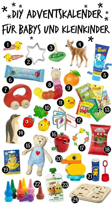 Adventskalender Selber Basteln Ideen by Adventskalender F 252 R Babys Und Kleinkinder Ideen Zum