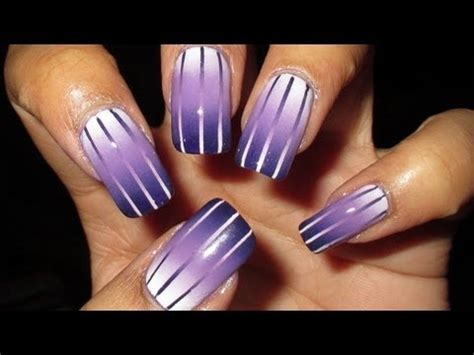 tutorial nail art gradient how to make reciprocal gradient nail art step by step diy